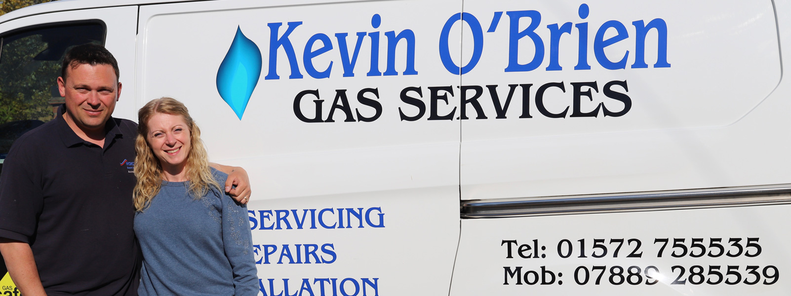 Kevin O'Brien Gas Services - Oakham Team